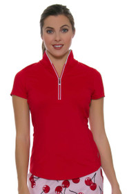 Jofit Women's Barossa Sport Tapered Collar Golf Polo Shirt