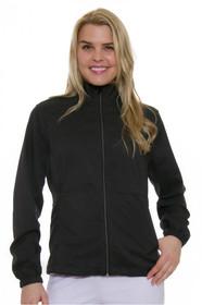 Greg Norman Women's Essentials Heathered Zip Golf Jacket - 3 Colors