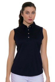 Clare Sleeveless Golf Polo Shirt