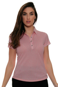 Cutter & Buck Women's Simone Leona Printed Golf Short Sleeve Shirt