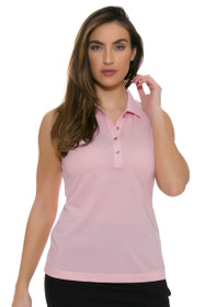Cutter & Buck Women's Simone Charlie Oxford Golf Sleeveless Shirt