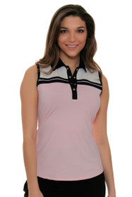 Cutter & Buck Women's Simone Brette Colorblock Golf Sleeveless Shirt