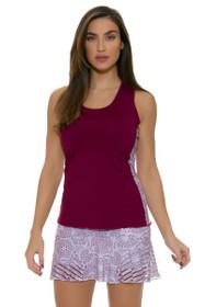 Grace Print Sheer Tennis Skirt