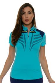 Nirvana Stripes Golf Polo Shirt