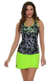 Casino Lime Glo Tennis Skirt
