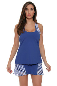 Grace Nordica Blue Tennis Skirt