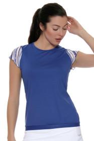 Nordica Cap Sleeve Banded Hem Tennis Shirt