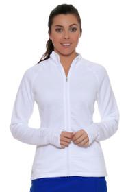 Essentials 3-Stripe Full Zip Jacket