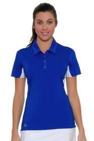 Essentials Short Sleeve Blue Golf Polo