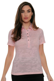 Cutter & Buck Women's Simone Deco Jacquard Phoenix Golf Short Sleeve Shirt