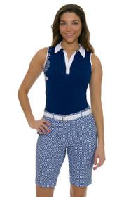 Annika Women's Above Board Darya Print Golf Shorts