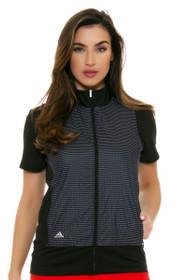 Adidas Women's Technical Lightweight Black Wind Vest