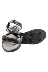 Sandbaggers Women's Black Grace Golf Sandals