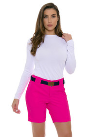 Jofit Women's Napa Sport Pink Belted Golf Short