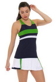 Fila Women's Heritage Pleated White Tennis Skirt