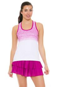 Solfire Women's Artisan Peak Raspberry Tennis Skirt