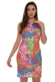 Tee 2 Sea Women's Jungle Juice Print Golf Dress