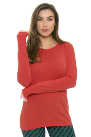 Tasc Performance Women's Red Sky Nola Long Sleeve Top