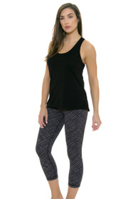 MPG Women's Jacquard Dare Workout Capri