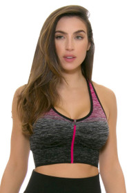 Electric Yoga Women's Spring Be Free Fuchsia Sports Bra
