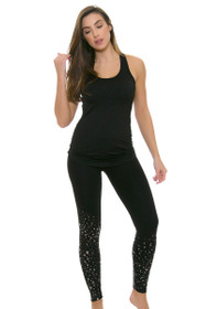 Electric Yoga Women's Silver Stars Workout Legging