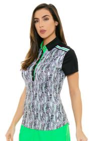 GGBlue Women's Bali Dylan Rainforest Golf Polo Shirt