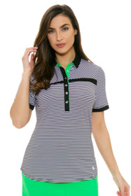 GGBlue Women's Bali Kesha Guru Golf Polo Shirt