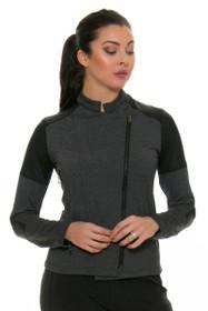 ChiChi Active Women's Sandra Moto Charcoal Jacket