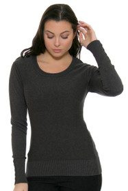 Cutter & Buck Women's Broadview Scoop Neck Sweater