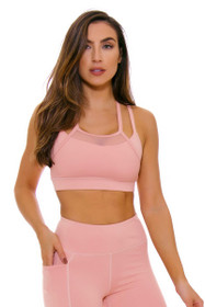 TLF Women's Spring Vice Blush Rebus Sports Bra