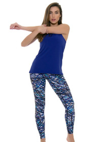 PrismSport Women's Fitspo Scribble Workout Legging
