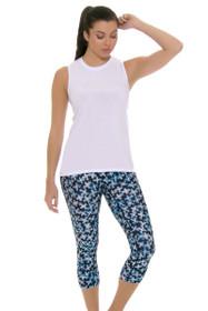 PrismSport Women's Classic II Pixie Workout Capri
