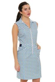 Cracked Wheat Women's Paradiso Vonita Dot Print Golf Dress
