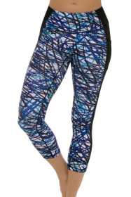 PrismSport Women's Mobility 7/8 Scribble Workout Legging