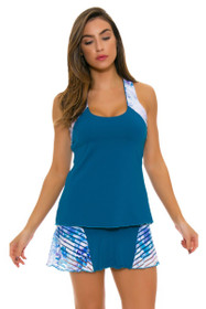 Denise Cronwall Women's Trista Teal Grace Tennis Skirt