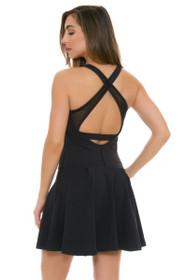 Tonic Active Black Crosscourt Tennis Dress