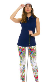 Swing Control Women's Spring Tropic Master Golf Ankle Pants