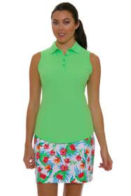 Greg Norman Women's Essentials Tropical Print Golf Skort
