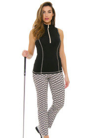 Swing Control Women's Spring Retro Master Golf Ankle Pants