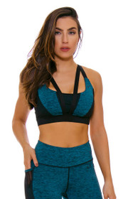 TLF Women's Spring Devant Jade Heather Sports Bra