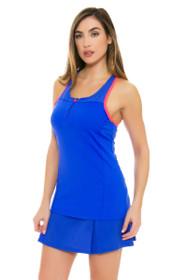 Lole Women's Spring Justine Dazzling Blue Tennis Skirt