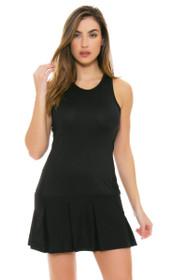 Lole Women's Spring Mae Black Tennis Dress