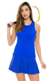 Lole Women's Spring Mae Dazzling Blue Tennis Dress