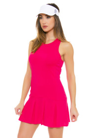 Lole Women's Spring Mae Tropical Rose Tennis Dress
