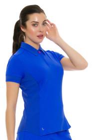 Lole Women's Spring Jordan Dazzling Blue Golf Polo Shirt