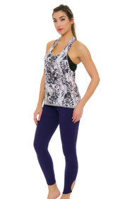Lole Women's Spring Palmira Dark Spectrum Workout Leggings