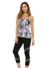 Lole Women's Spring Gratitude Cropped Black Workout Leggings
