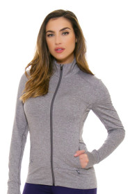 Lole Women's Spring Essential Up Volcanic Glass Heather Jacket