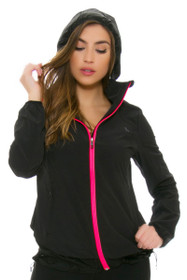 Lole Women's Spring Satisfaction Black Jacket
