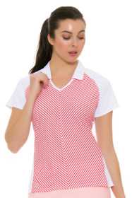 Adidas Women's Climachill Fashion Golf Short Sleeve Polo
